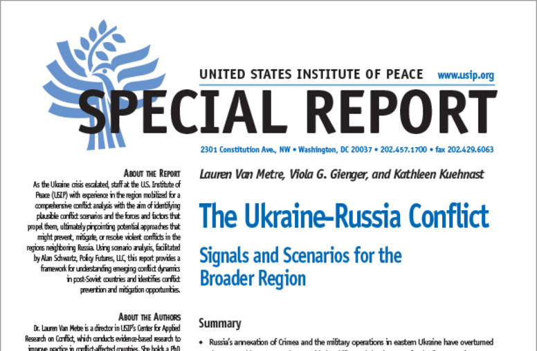 The Ukraine-Russia Conflict