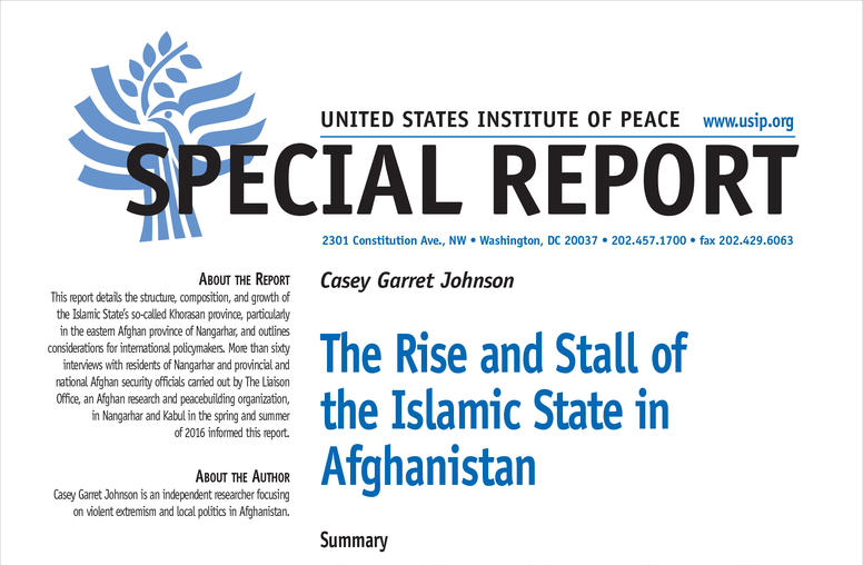 The Rise and Stall of the Islamic State in Afghanistan