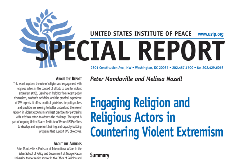 Engaging Religion and Religious Actors in Countering Violent Extremism