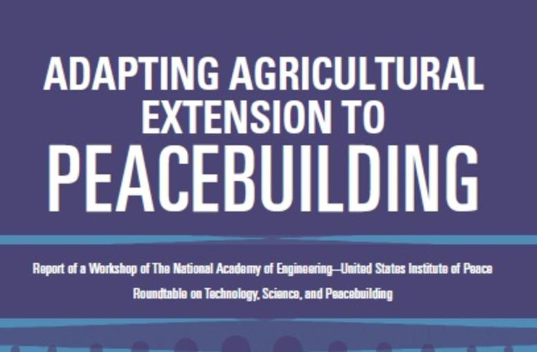 Adapting Agricultural Extension to Peacebuilding