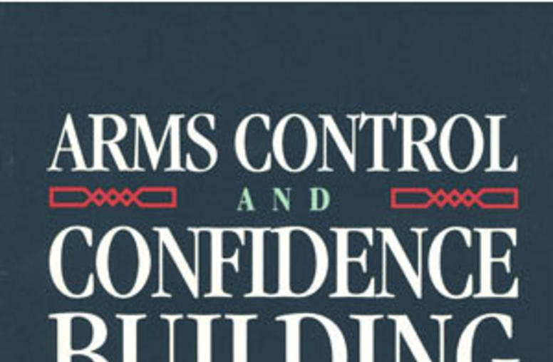 Arms Control and Confidence Building in the Middle East