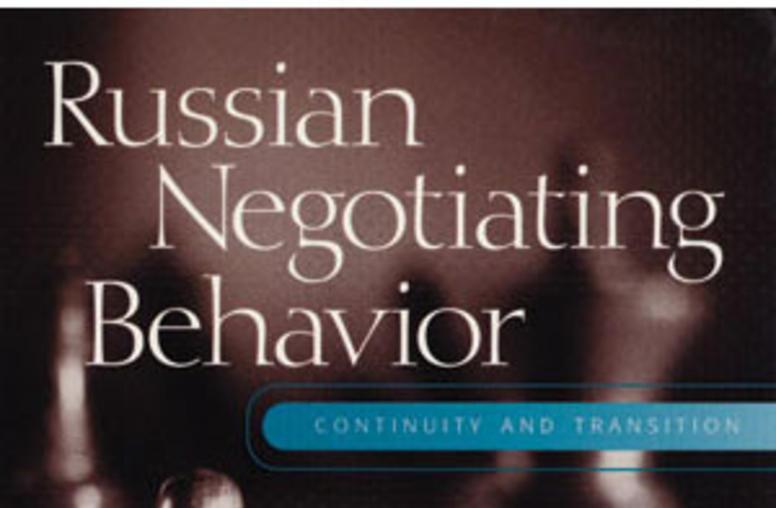 Russian Negotiating Behavior