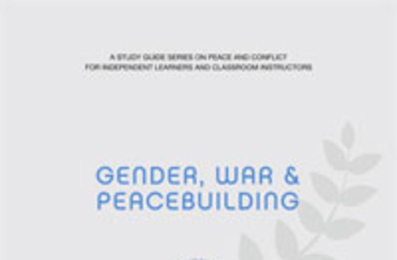 Gender, War, and Peacebuilding
