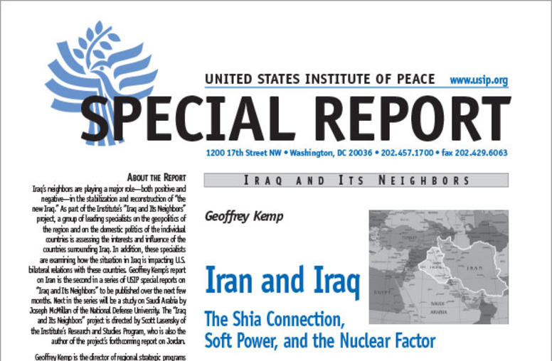 Iran and Iraq: The Shia Connection, Soft Power, and the Nuclear