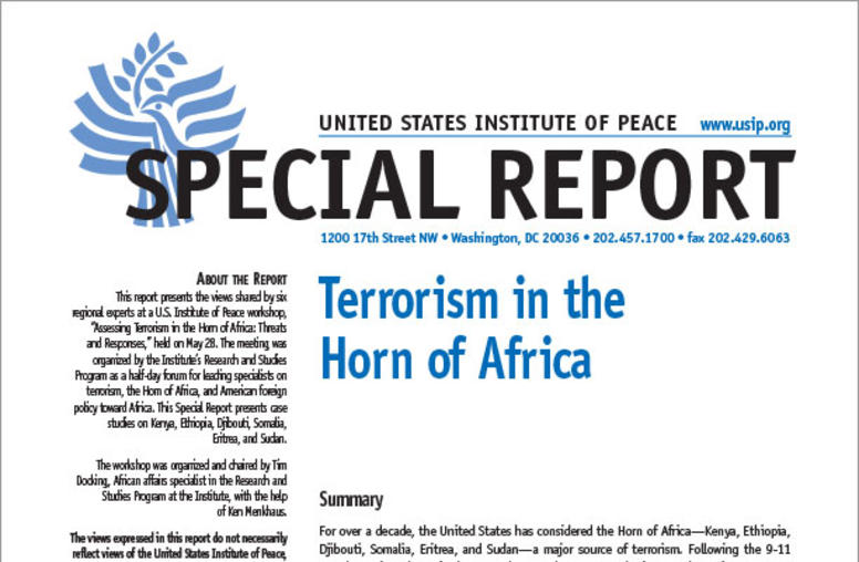 Terrorism in the Horn of Africa