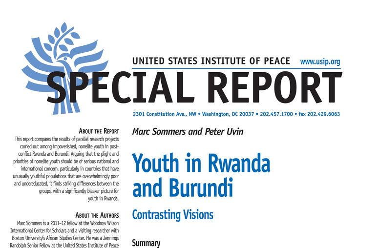 Youth in Rwanda and Burundi