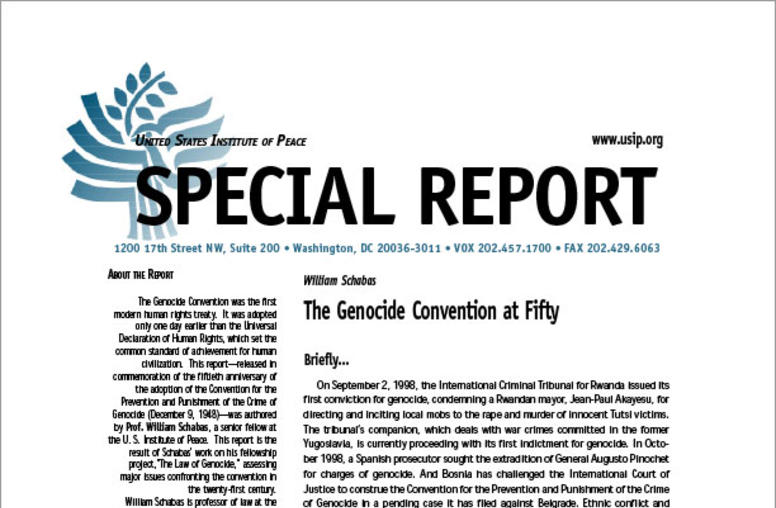 The Genocide Convention at Fifty